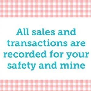 I record all sales! Every single item